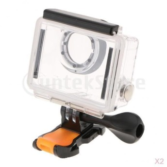 ダイビング 防水ケース 2個 アクションカメラ スポーツカメラ ハウジング 水下30m対応