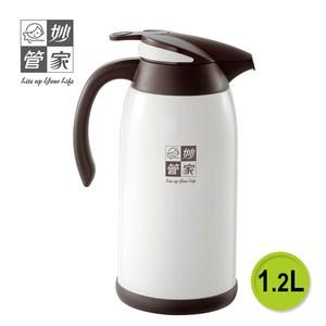 【妙管家】玻璃保溫壺 1.2L HKVB-012(保溫壺)