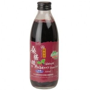 陳稼莊-桑椹醋加糖300cc瓶