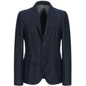 《期間限定セール開催中!》DANIELE ALESSANDRINI HOMME メンズ テーラードジャケット ブルー 48 コットン 100%