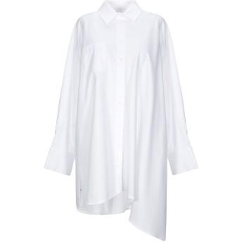 《セール開催中》SJYP レディース シャツ ホワイト S コットン 100%
