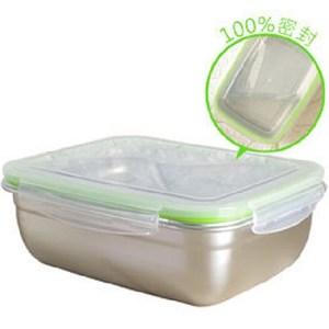 韓式304不鏽鋼密封保鮮盒1800ml