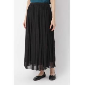 《arrive paris》楊柳マキシスカート ブラック