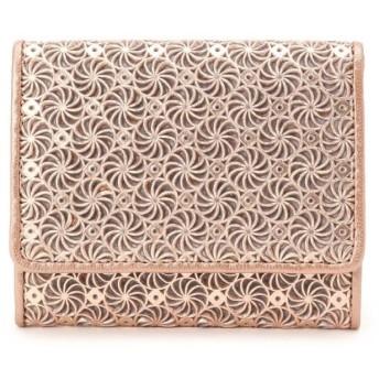 ヒロコ ハヤシ GIRASOLE(ジラソーレ) 薄型ミニ財布 レディース ピンク(072) 00(FREE) 【HIROKO HAYASHI】
