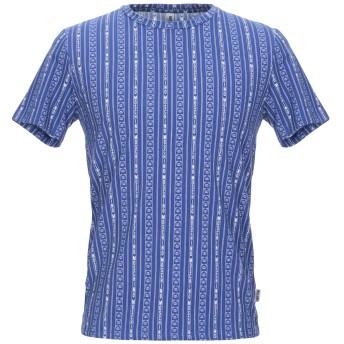 《9/20まで! 限定セール開催中》MOSCHINO メンズ アンダーTシャツ ブルー XS コットン 92% / ポリウレタン 8%