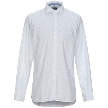 《9/20まで! 限定セール開催中》SIRIO メンズ シャツ ホワイト L コットン 97% / ポリウレタン 3%