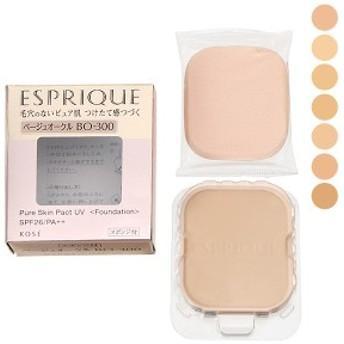 コーセー エスプリーク ESPRIQUE ピュアスキン パクト UV SPF26/PA++ レフィル 9.3g