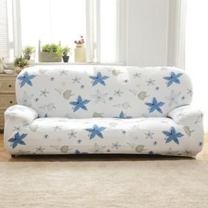 【歐卓拉】香草天空彈性沙發套-1人