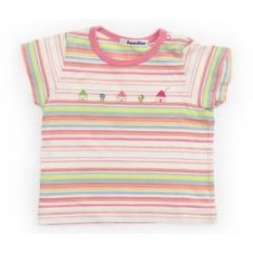【ファミリア/familiar】Tシャツ・カットソー 80サイズ 女の子【USED子供服・ベビー服】(455274)