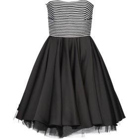 《セール開催中》ALESSANDRO LEGORA レディース ミニワンピース&ドレス ブラック 42 ポリエステル 100%