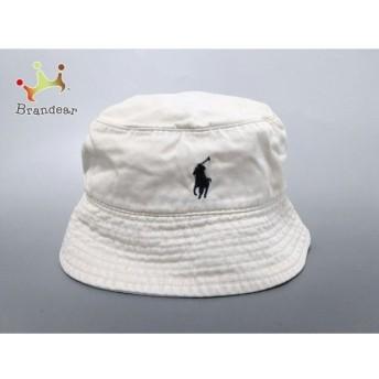 ポロラルフローレン POLObyRalphLauren 帽子 アイボリー コットン 新着 20190828