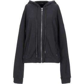 《期間限定セール開催中!》MANGANO レディース スウェットシャツ ブラック L コットン 100%