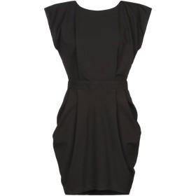 《セール開催中》BERNA レディース ミニワンピース&ドレス ブラック XS ポリエステル 80% / レーヨン 15% / ポリウレタン 5%