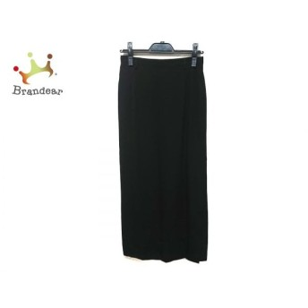 レキップ ヨシエイナバ L'EQUIPE YOSHIE INABA ロングスカート サイズ9 M レディース 黒 新着 20190828