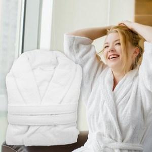 【花季】純品良織-舒適衛浴五星享受組(浴裙+歐式浴袍)