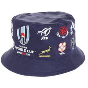 【Super Sports XEBIO & mall店:スポーツ】ラグビーワールドカップ2019(TM) 公式ライセンス 20 UNIONS ハット NVY R33179