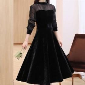 パーティードレス 結婚式 二次会 ワンピース 結婚式 お呼ばれ ドレス 20代 30代 40代 結婚式 お呼ばれドレス ロング ミモレ ドレス ワン