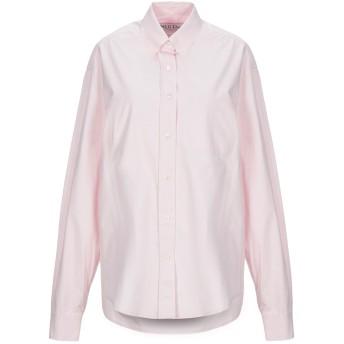 《セール開催中》WE11 DONE レディース シャツ ピンク 2 コットン 100%
