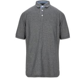 《期間限定セール開催中!》ELEVENTY メンズ ポロシャツ 鉛色 XXL コットン 100%