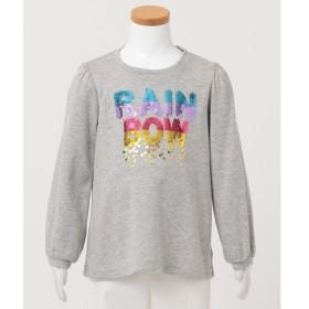 [マルイ] 【100-130cm】ミラクルスパンコール スムース Tシャツ/エニィファム キッズ(any FAM KIDS)