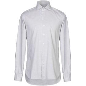 《期間限定セール開催中!》ORIAN メンズ シャツ ライトグレー 40 コットン 100%