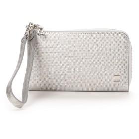 キプリス ウィメンズ CYPRIS Women's ポン スマートフォン対応ハニーセル財布 (シルバー)