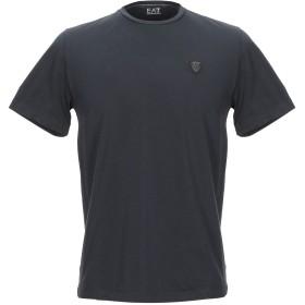 《期間限定セール開催中!》EA7 メンズ T シャツ ダークブルー XXS コットン 98% / ポリウレタン 2%