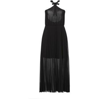 《セール開催中》BERNA レディース ロングワンピース&ドレス ブラック XS ポリエステル 100%