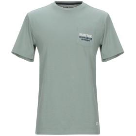 《期間限定セール開催中!》BURTON メンズ T シャツ ライトグリーン XS コットン 100%