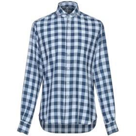 《セール開催中》ORIAN メンズ シャツ ダークブルー 39 コットン 100%