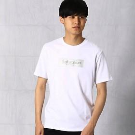 【SALE(三越)】<COMME CA MEN > オーロラプリント Tシャツ(0742TL29) シロ 【三越・伊勢丹/公式】
