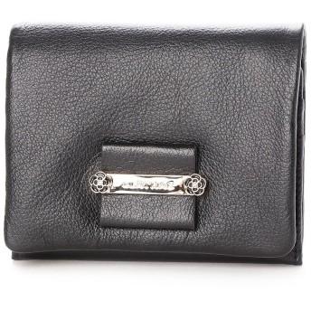 クレイサス CLATHAS ダージリン 2つ折り財布 (ブラック)