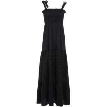 《セール開催中》BERNA レディース ロングワンピース&ドレス ブラック M コットン 100%