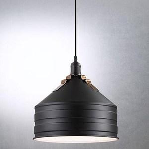 HONEY COMB 現代感墨曜金屬單吊燈 TA7482R