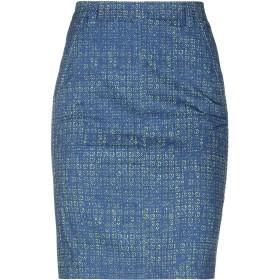 《期間限定セール開催中!》MARELLA レディース ひざ丈スカート ブルー 40 コットン 96% / ポリウレタン 4%