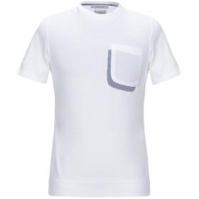 《期間限定セール開催中!》HAMAKI-HO メンズ T シャツ ホワイト S コットン 100%