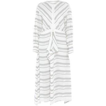 《セール開催中》PROENZA SCHOULER レディース 7分丈ワンピース・ドレス ホワイト 4 レーヨン 88% / アセテート 12%