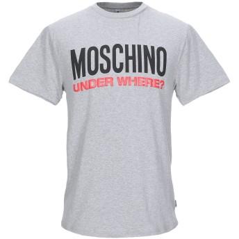 《9/20まで! 限定セール開催中》MOSCHINO メンズ アンダーTシャツ グレー XS コットン 92% / ポリウレタン 8%
