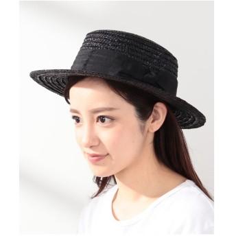 Te chichi Lugnoncure カンカン帽(ブラック)【返品不可商品】