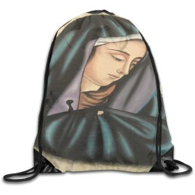 ジムの旅行のためのバンドルバックパックバッグヴィンテージ手描きのエジプトのパピルス聖母マリアリュックサック