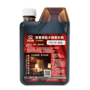水油通用木器著色劑 棕色 400ml