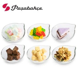 【Pasabahce】精緻玻璃點心碟 6入禮盒組