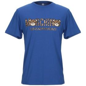 《期間限定セール開催中!》MOSCHINO メンズ アンダーTシャツ ブルー XS コットン 100%
