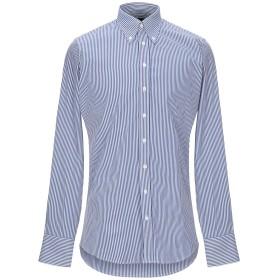 《期間限定セール開催中!》DSQUARED2 メンズ シャツ ブルー 46 コットン 100%