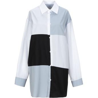 《セール開催中》MAISON MARGIELA レディース シャツ ホワイト 38 コットン 100%