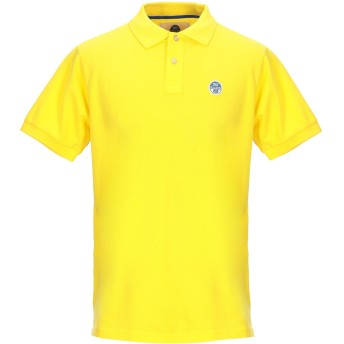 《期間限定セール開催中!》NORTH SAILS メンズ ポロシャツ イエロー XL コットン 100%