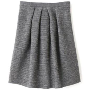 NATURAL BEAUTY / リブレアニットスカート