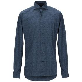 《9/20まで! 限定セール開催中》ORIAN メンズ シャツ ブルーグレー 39 コットン 100%