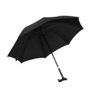 PUSH!戶外用品可調節長短雨傘拐杖傘登山杖(加固型)棗紅色I74-2棗紅色