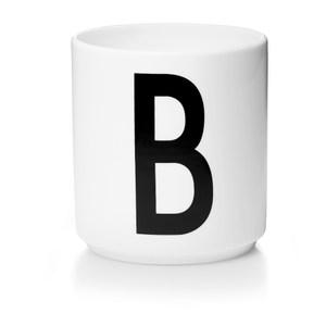 Design Letters 字母骨瓷杯白 B